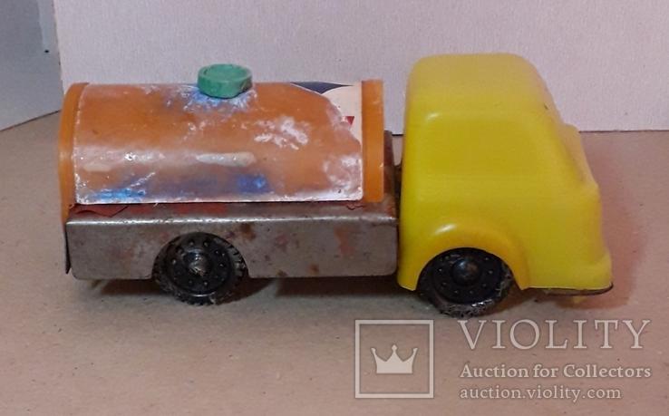 Машинка грузовая БЕНЗОВОЗ из СССР 1960-1970-е, фото №7