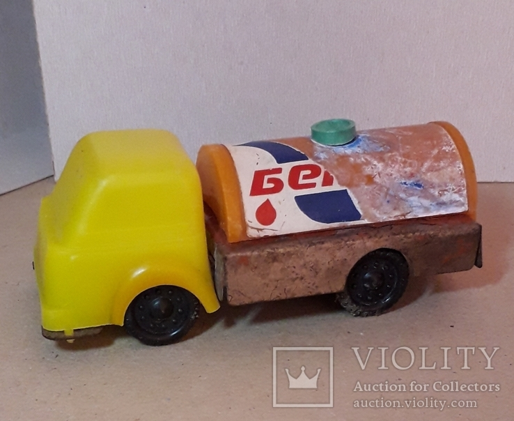 Машинка грузовая БЕНЗОВОЗ из СССР 1960-1970-е, фото №2