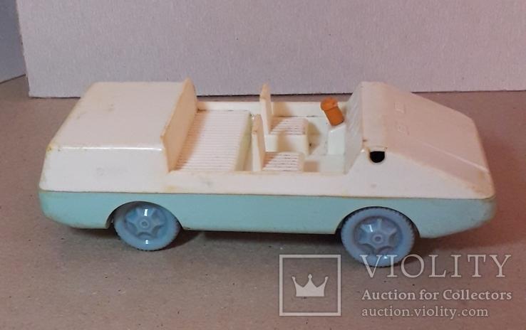 Машинка пластмасс. из СССР длина 14 см., фото №3