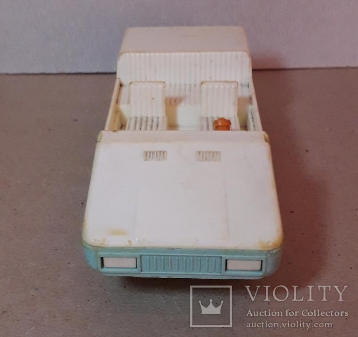 Машинка пластмасс. из СССР длина 14 см., фото №8
