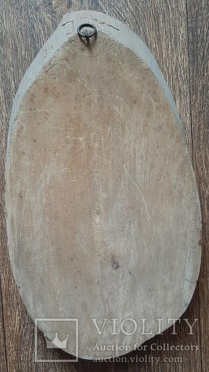 Картина на срезе дерева 30 см, фото №3