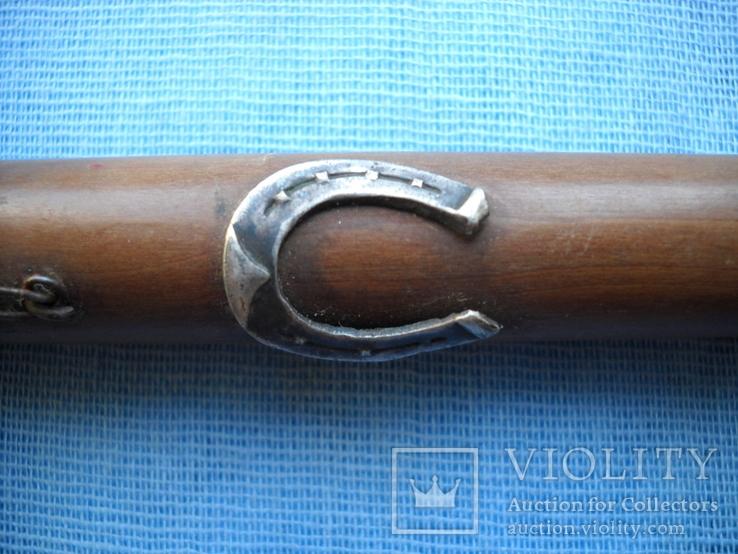 Палочка или указка с накладками из серебра 84 пробы, фото №8