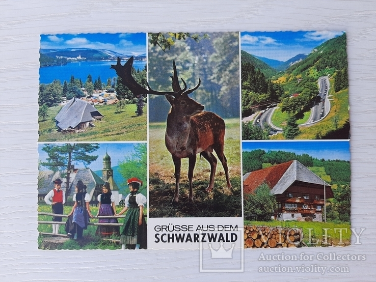 Немецкая ретро открытка (9), фото №2