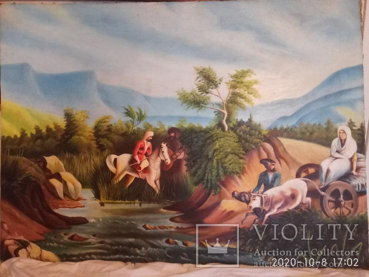 Картина маслом на холсте, фото №2