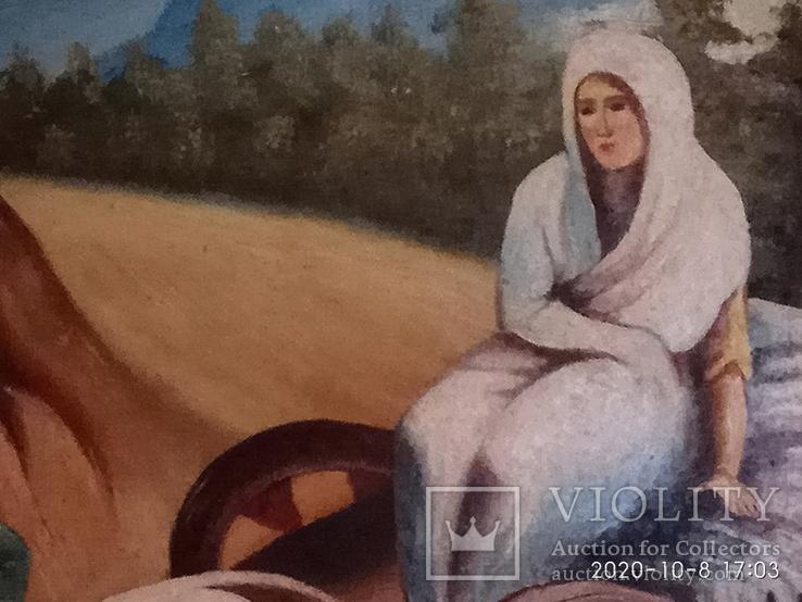 Картина маслом на холсте, фото №6