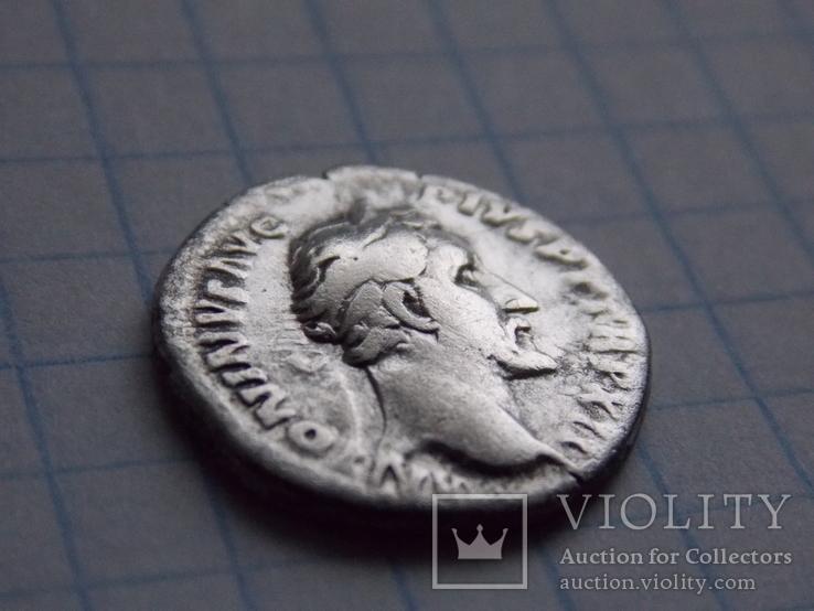 Денарий. Антонин Пий (COSIIII), фото №3