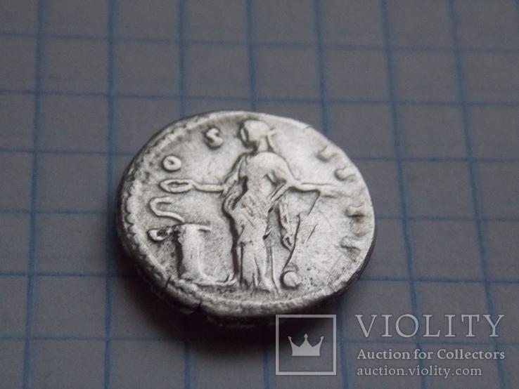 Денарий. Антонин Пий (COSIIII), фото №5