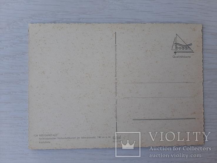 Немецкая ретро открытка (10), фото №3
