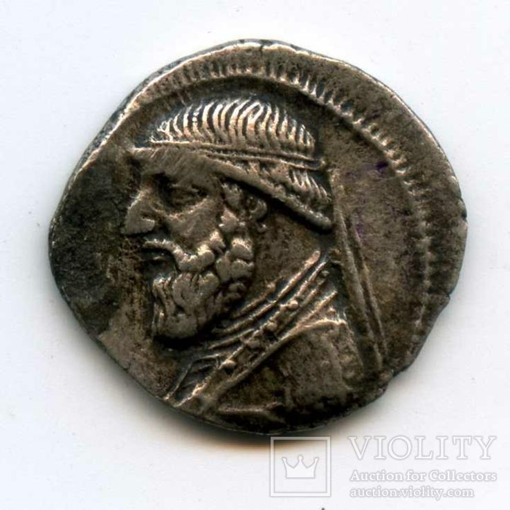 Драхма Парфянское царство  MITHRADATES II (123-88 гг. до н.э.) Парфия