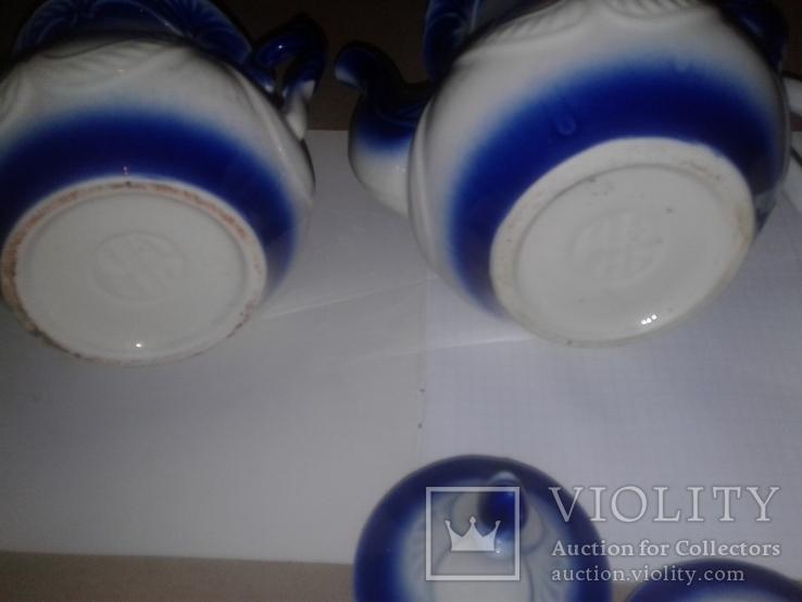 Чайники (2шт)сахарница (1шт), фото №6