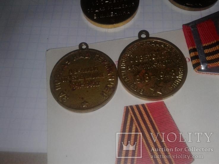 Медали разные,(5медалей), фото №4