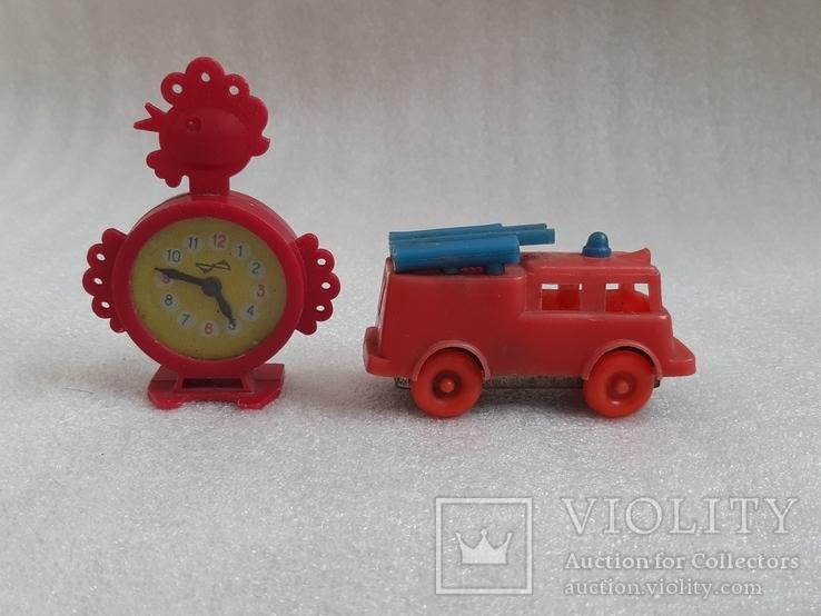 Пожарная машина и часики СССР, фото №2