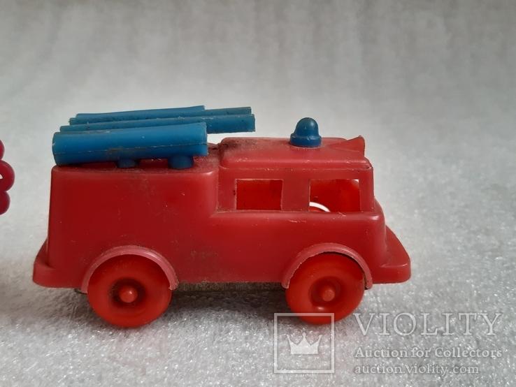Пожарная машина и часики СССР, фото №3