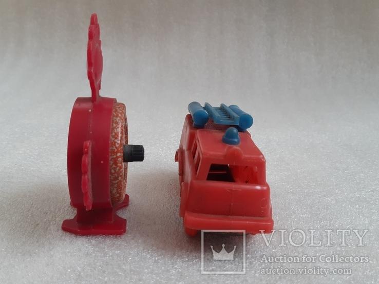Пожарная машина и часики СССР, фото №7