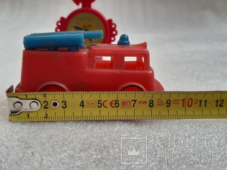Пожарная машина и часики СССР, фото №12