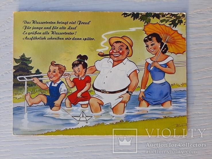 Немецкая ретро открытка (13), фото №2
