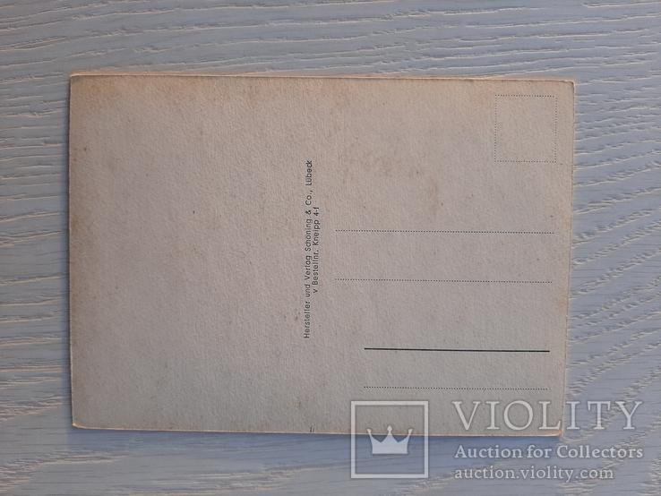 Немецкая ретро открытка (13), фото №3
