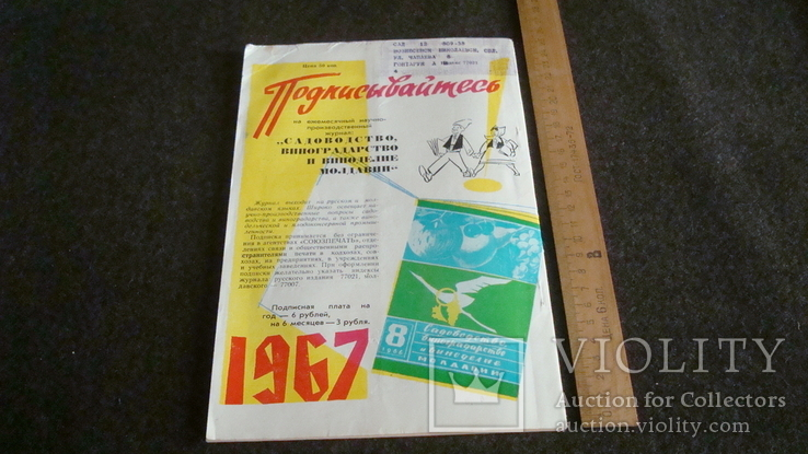 Садоводство, виноградарство и виноделие Молдавии 9/1966, фото №7