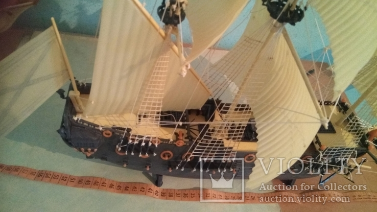 Макет, копія першого лінійного корабля Петра 1, фото №6