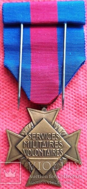 Франция, Крест Добровольцев - за боевые заслуги, фото №5