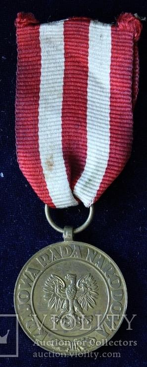 Польша. Медаль Победы и Свободы.(3), фото №3