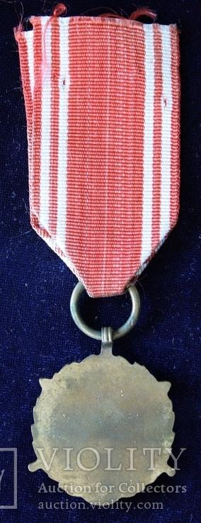 """Польша. Медаль """"Вооруженные силы на службе Родине"""". 5 лет.(3), фото №5"""