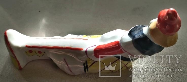 Клоун подставка фарфор Барановка, фото №4