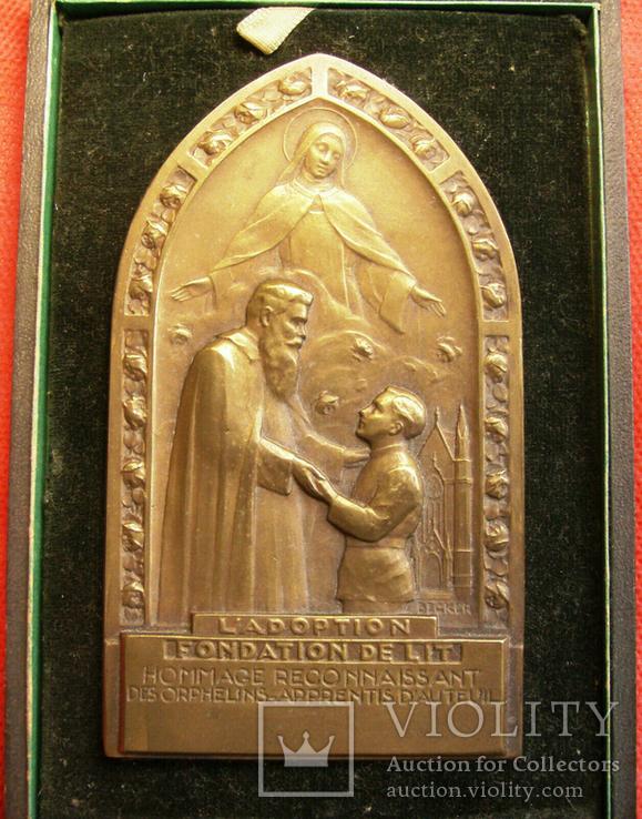 Франция, Медаль за благотворительность сиротским домам, фото №3