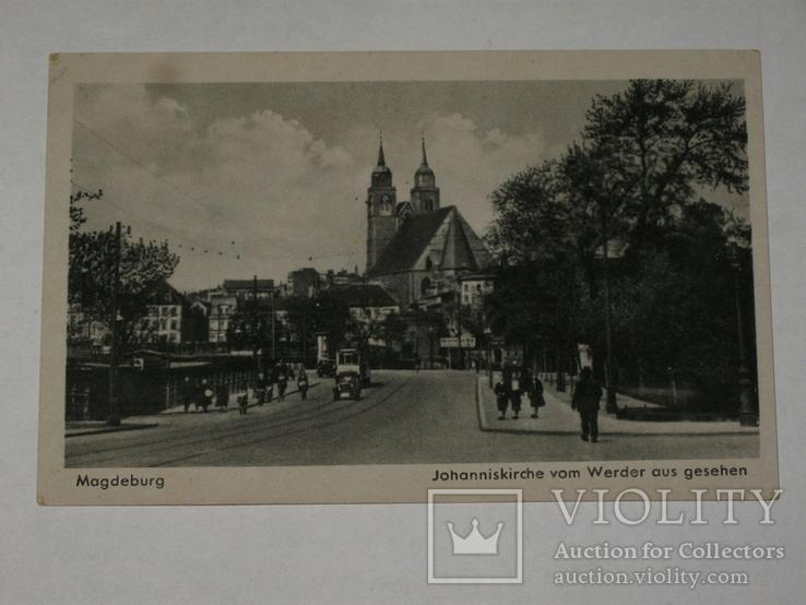 Открытка 1910-1945 год. Магдебург №135, фото №2