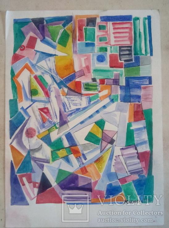 Абстракционая композиция., фото №3