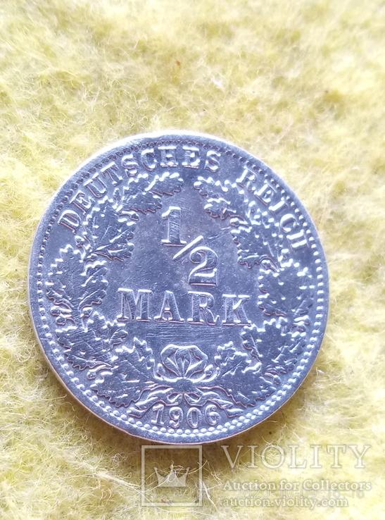 Марка 1/2 срібло, фото №3