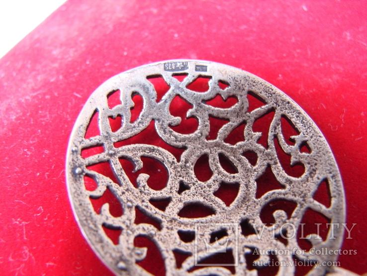 Кулон \ Подвеска Серебро 875, фото №4