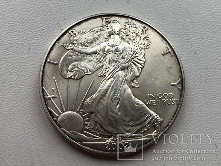 1 доллар 2002, фото №2