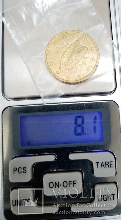 50 евроцентов 2002г Ирландия, фото №5