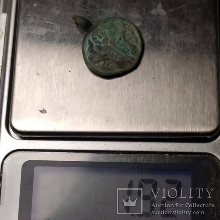 Один и вороны серебро копия, фото №5