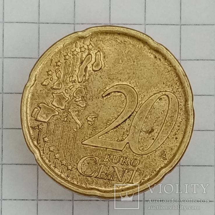 20 евроцентов 1999г Испания, фото №3