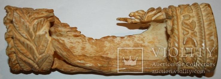 Карандашница из кости (природный орнамент), фото №3