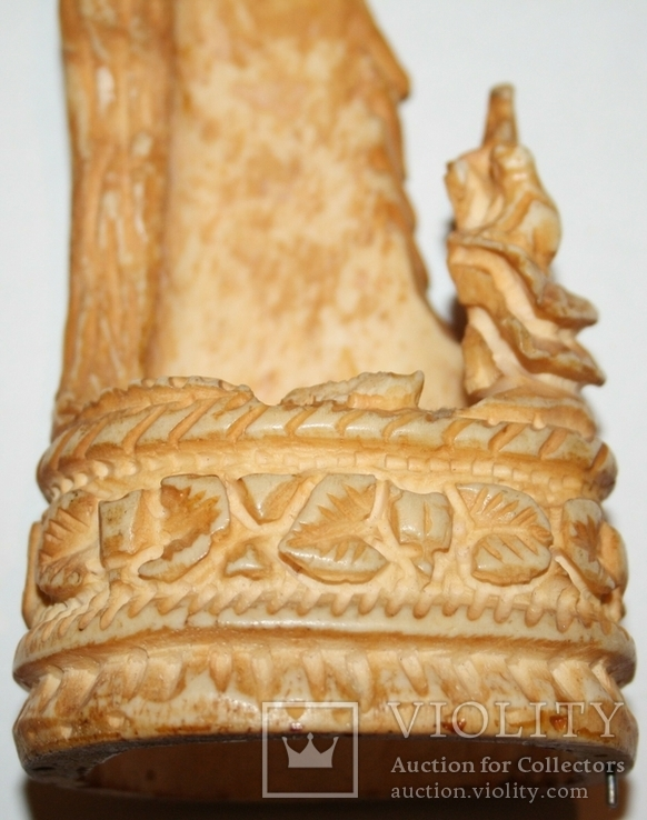 Карандашница из кости (природный орнамент), фото №10