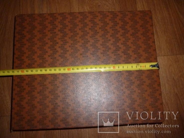 Футляр коробка СССР для ложка вилка  МНЦ или нержавейка  для столовый набор, фото №3