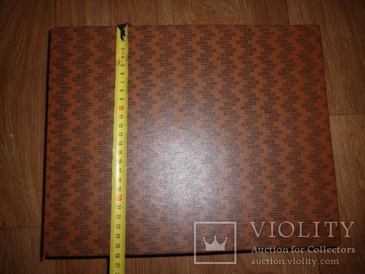 Футляр коробка СССР для ложка вилка  МНЦ или нержавейка  для столовый набор, фото №4