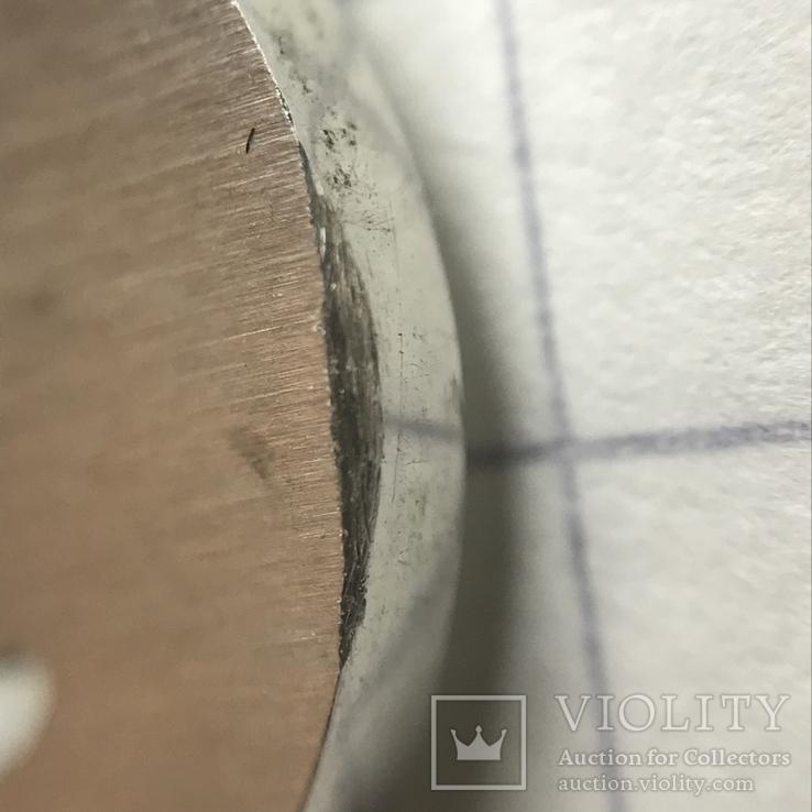 Колье серебро с вставкой металла, фото №8