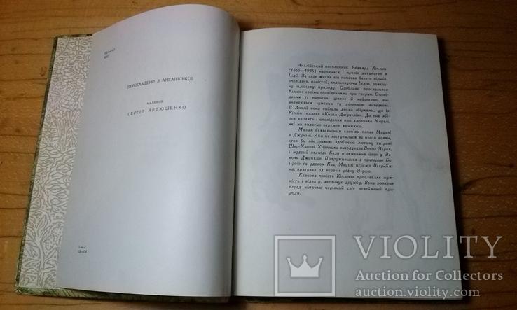 """Р.Кіплінг """"Мауглі""""з книги джунглів(вид-во """"Веселка""""1967 р.тир.65 тис.прим.)., фото №4"""