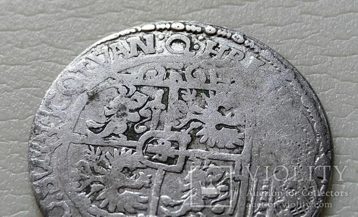 Коронный Орт 1621 год. Быгдощ. 16 год под портретом Сигизмунда III (№5)., фото №10