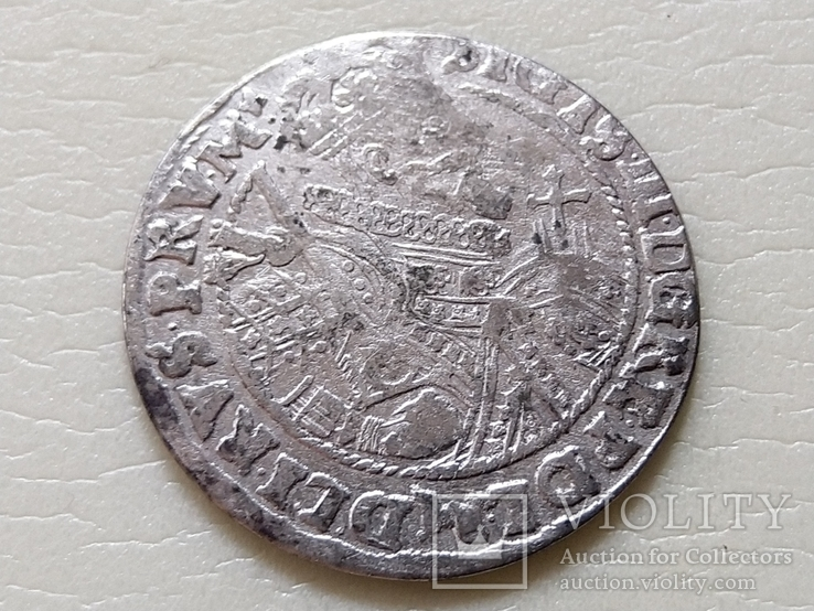 Коронный Орт 1622 год.В легенде пропущена Х. (О на D).(№10)., фото №4