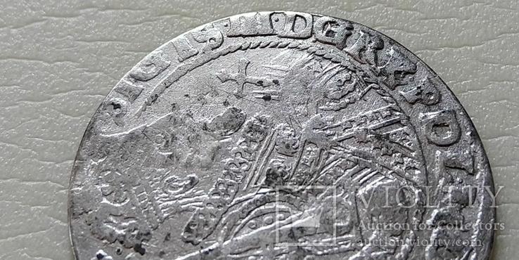 Коронный Орт 1622 год.В легенде пропущена Х. (О на D).(№10)., фото №2