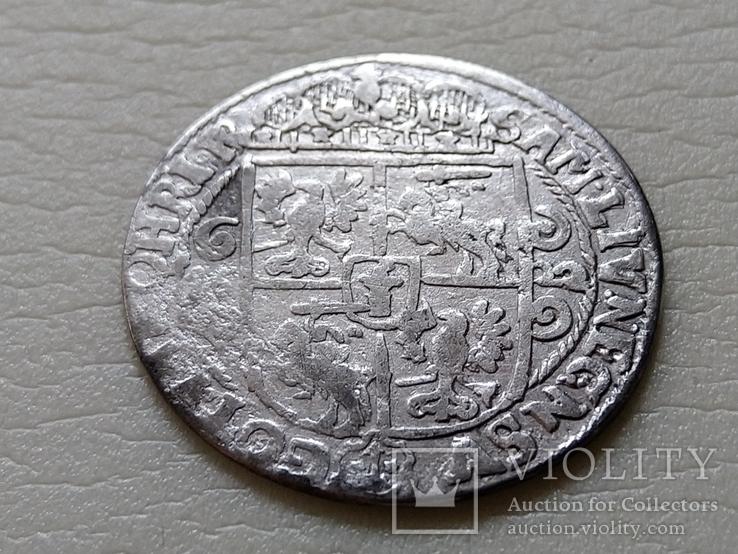 Коронный Орт 1622 год.В легенде пропущена Х. (О на D).(№10)., фото №6