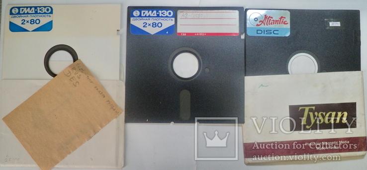Гибкие диски 12 шт, фото №6