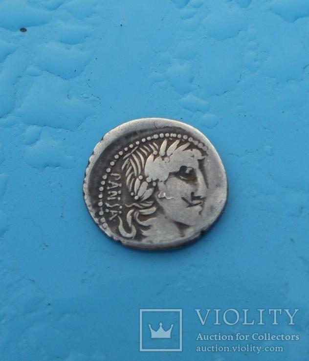 90 год до н. э. Монетарий - C. Vibio Pansa, фото №2