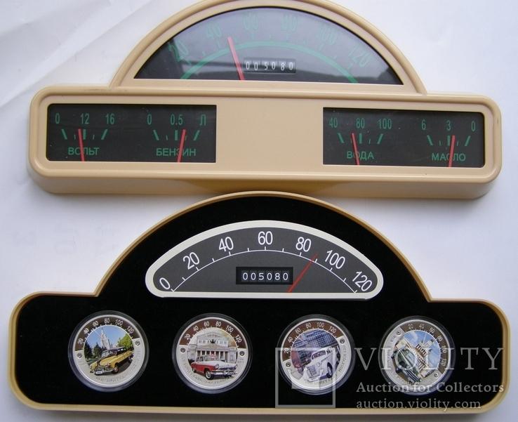 "Набор монет ""Старые советские автомобили"", 2010 г., фото №5"