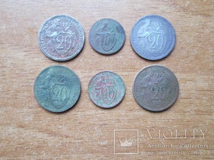 Лот монет, фото №2